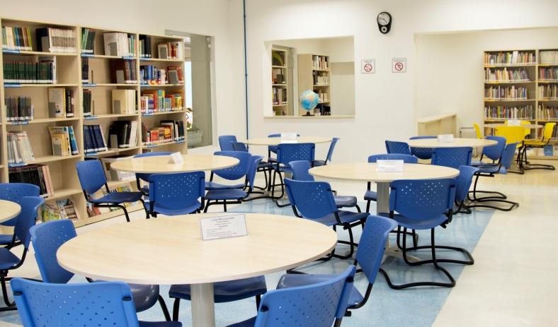 Biblioteca do Colégio Santa Amália_ Unidade Saúde