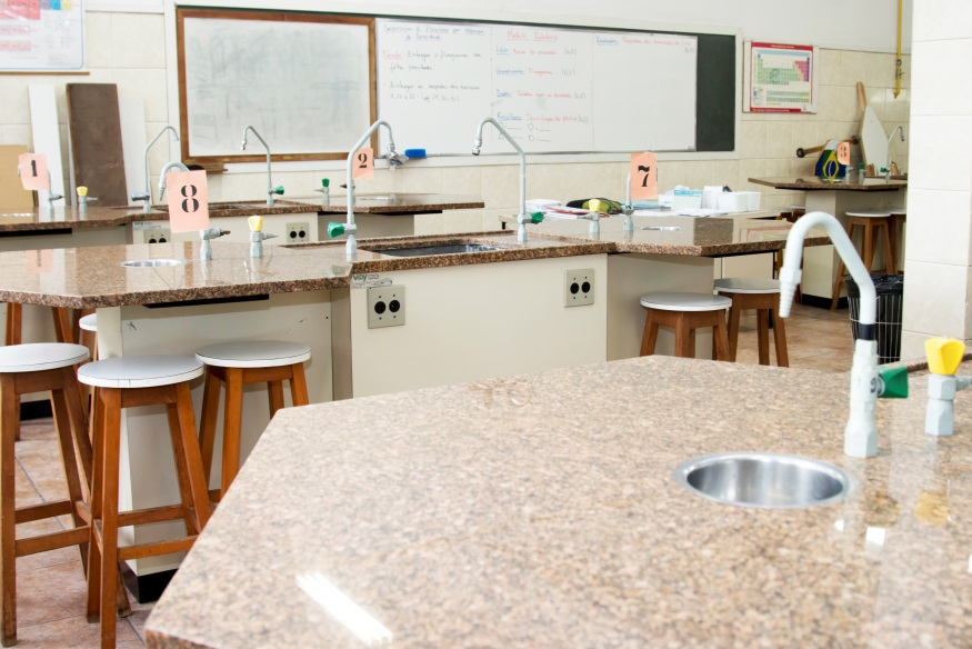 Laboratório do Colégio Santa Amália_ Unidade Saúde