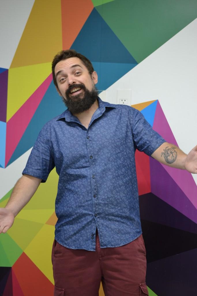 Chaps Melo, um dos idealizadores do Mundo Bita