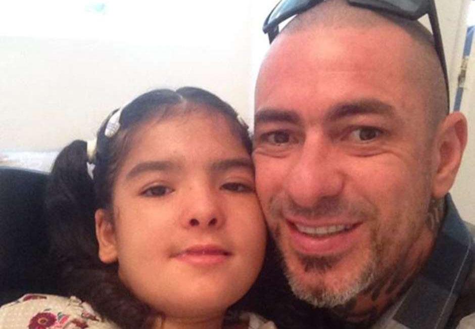 Henrique Fogaça e filha