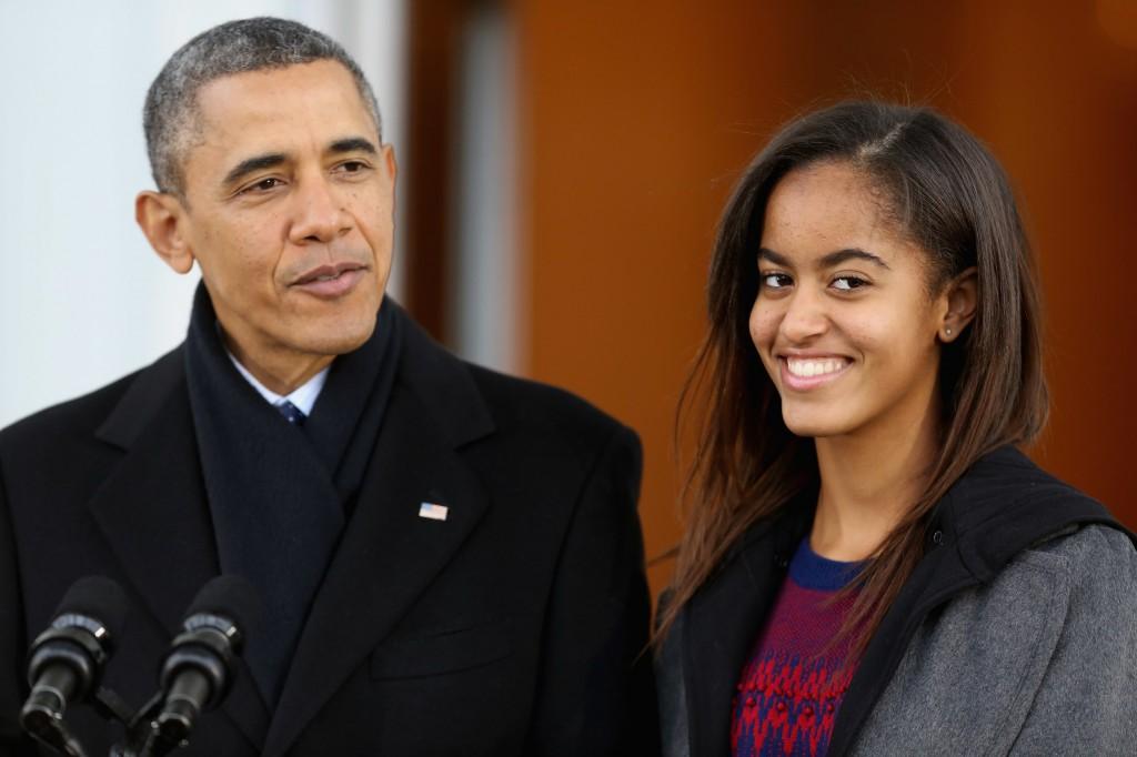 Malia, filha de Obama