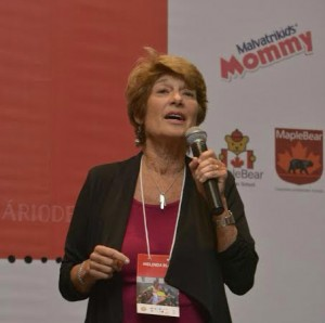 Melinda Blau no seminário