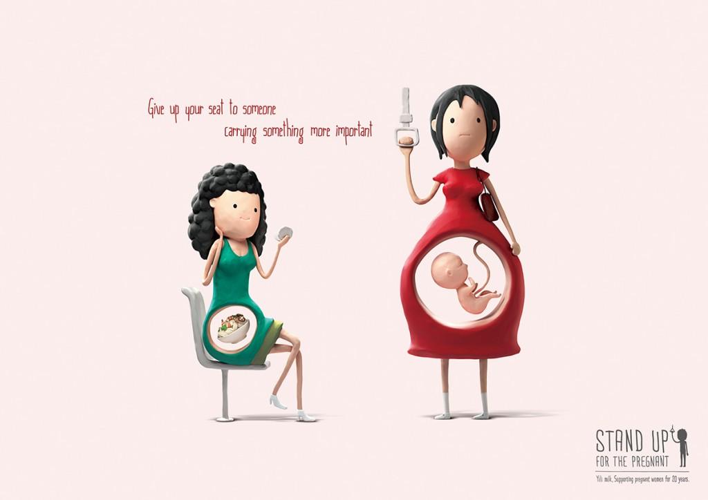 Propaganda lugar grávidas 3