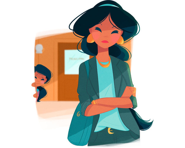 Jasmin Vida de mãe: Jasmin é uma mãe superprotetora e bota medo nos administradores da escola porque ela é durona e não deixa seus filhos sofrerem qualquer tipo de injustiça.