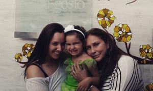 Mariana Belém, Laura e Fafá de Belém