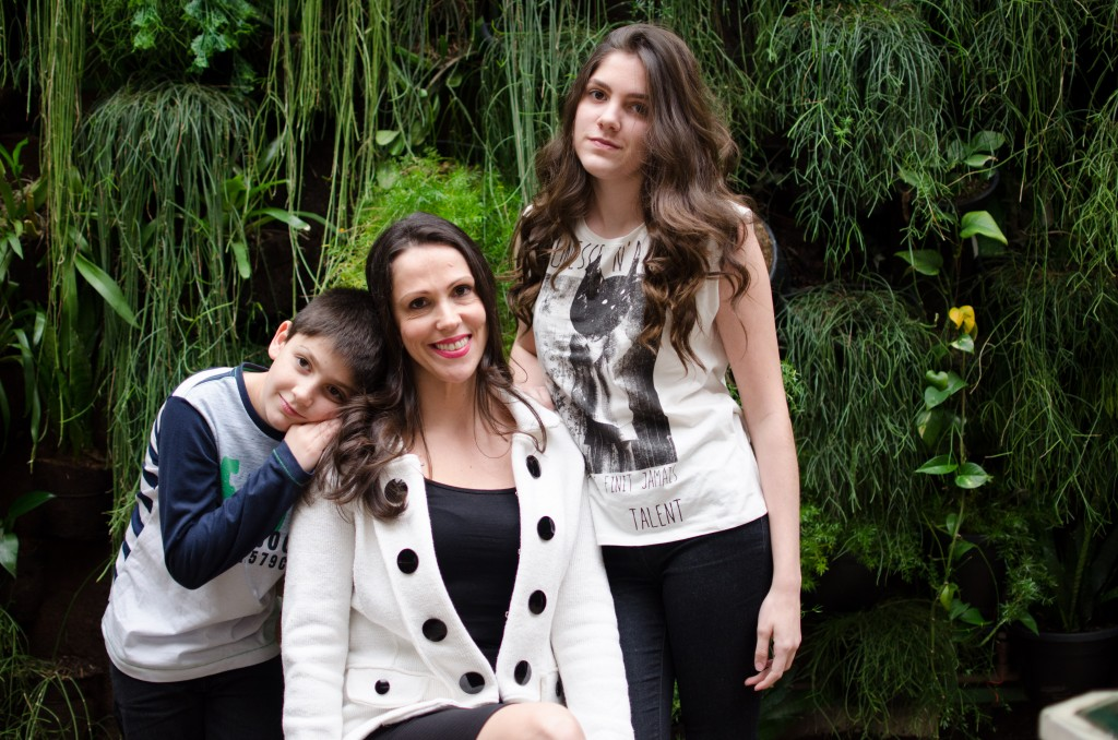 Adriana Viaro, mãe de Ale e Stephanie