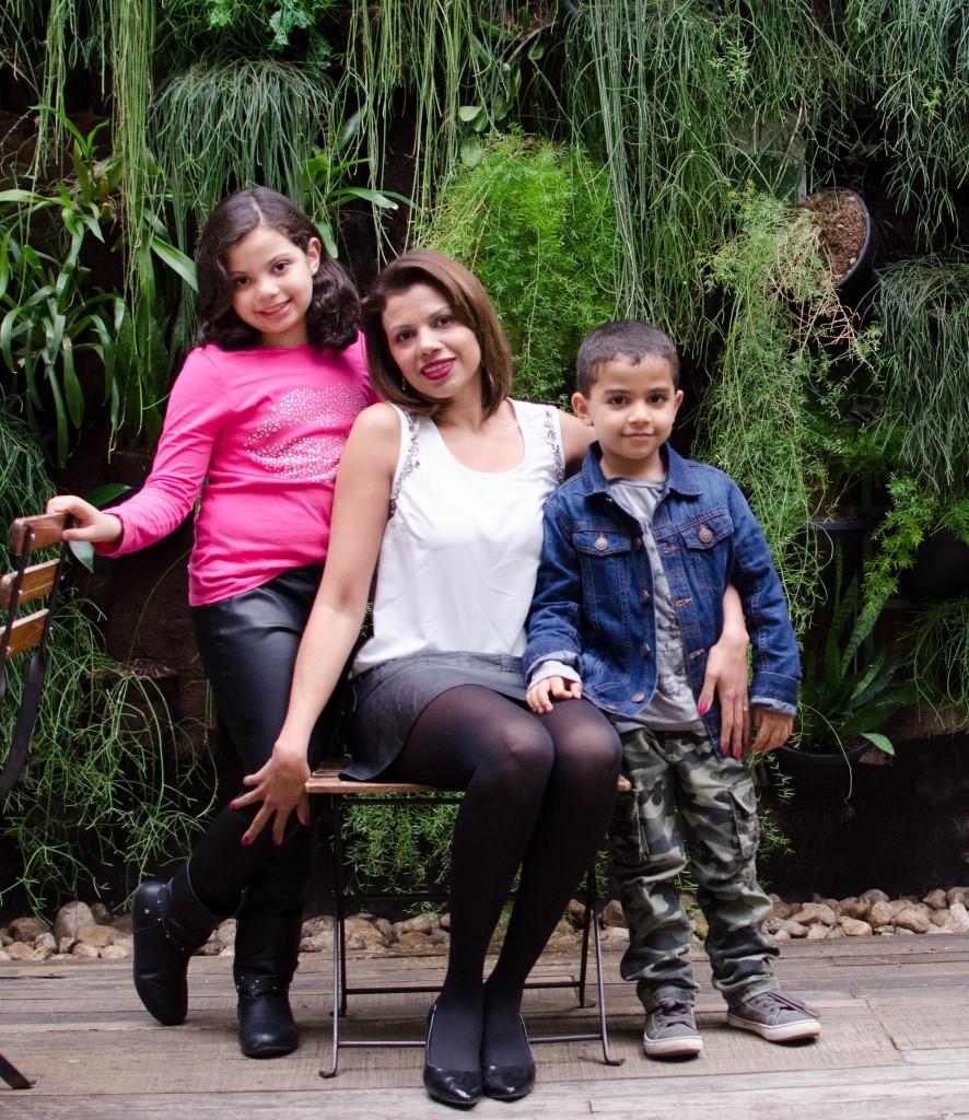 Paula Porfirio, mãe de Manuella e Arthur