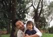 Mariê Vargas Imai Inoue e seu pai Sidney