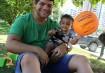 Miguel e o seu pai Gabriel