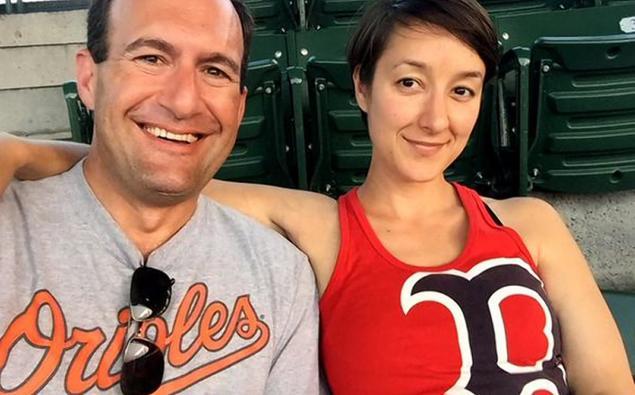 Sonia Van Meter e marido