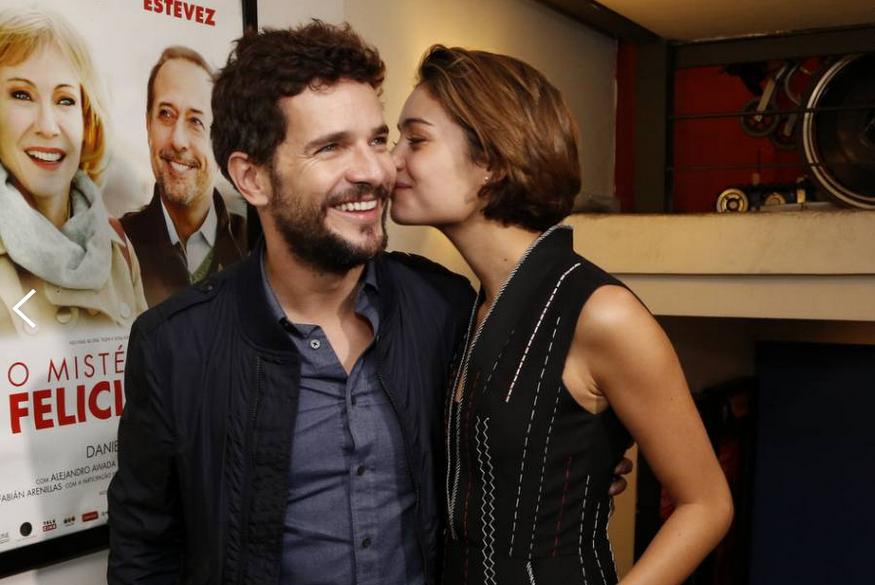 Sophie e Daniel de Oliveira