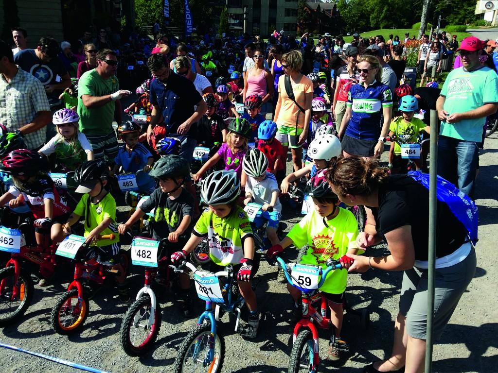 A competição Velirium, que acontece no Canadá, conta com a presença de crianças, atletas profissionais e quem mais quiser. Todo mundo sai com uma medalha!