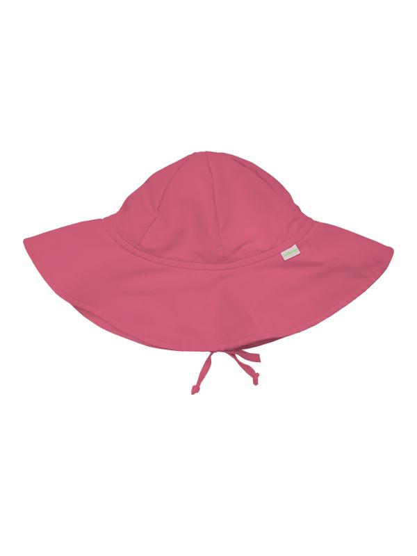Chapéu com fator de proteção ultravioleta – Ecobabies rosa