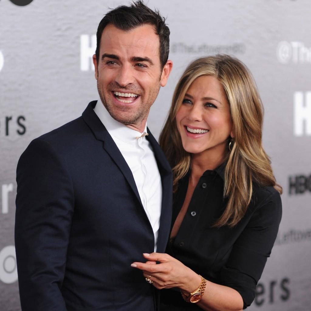 Jennifer Aniston e marido