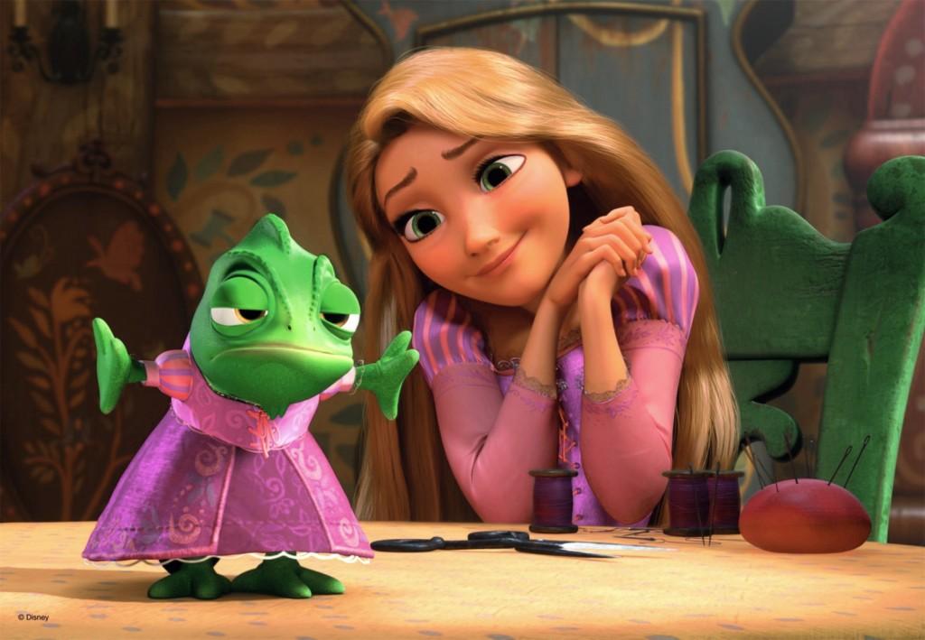 Rapunzel princesa vestido