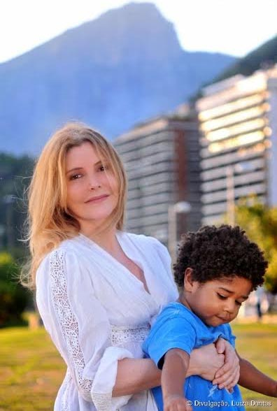 Maria Padilha e Manuel, agora com três anos