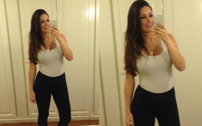 A ex-Miss Natália Guimarães perdeu 18 quilos em duas semanas