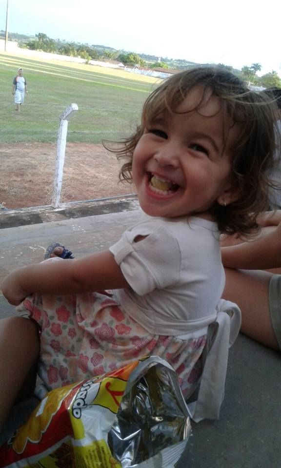 Alice, 2 anos, filha de Hallinny e Eliel