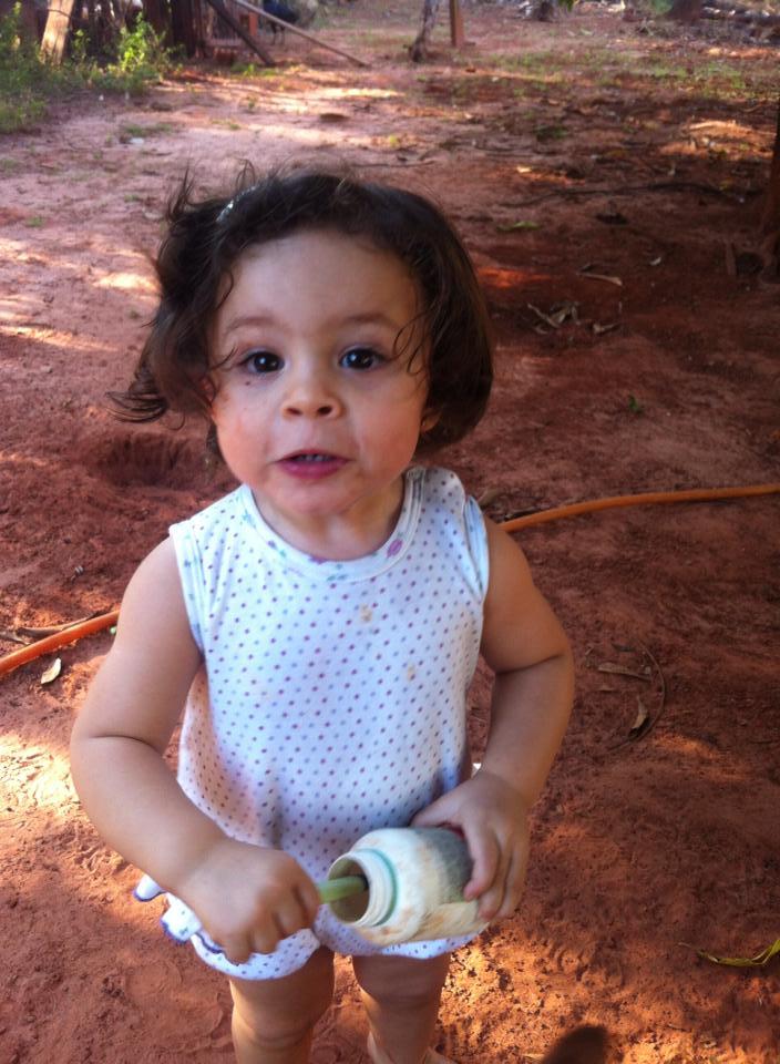 Ana Eliza, 1 ano, filha de Nathalia e Leandro