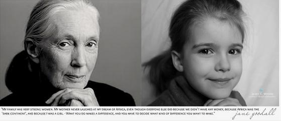 Jane Goodall, bióloga, antropóloga e pesquisadora britânica. É considerada a maior especialista do mundo em chimpanzés