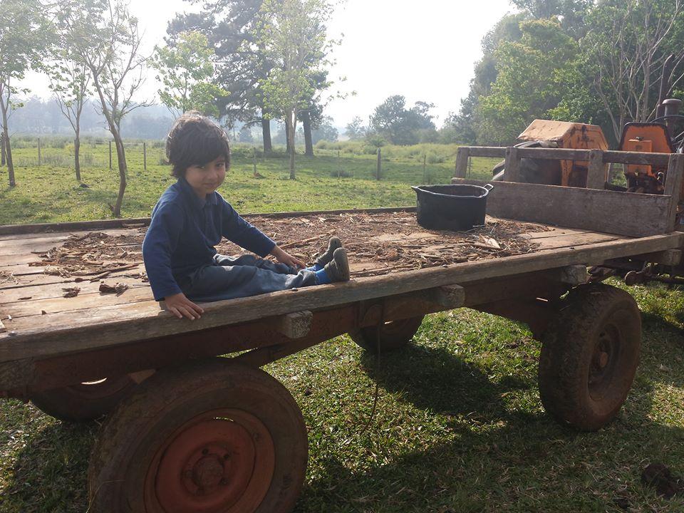 Emmanuel, 3 anos, filho de Paola e Norton