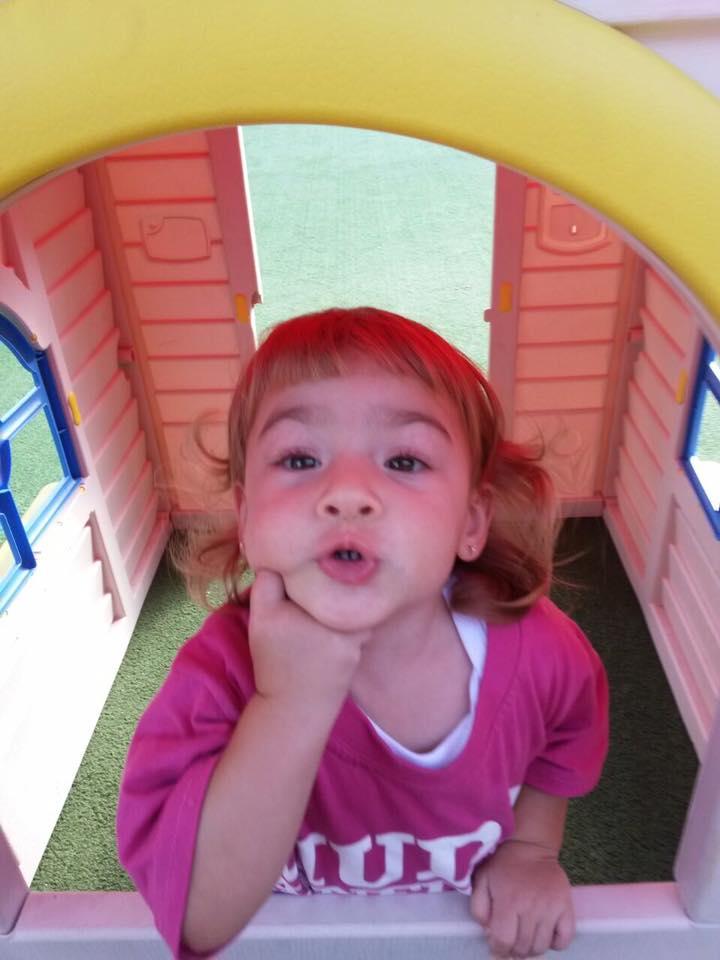Giovanna, 1 ano, filha de Adriana e Marcos Antonio
