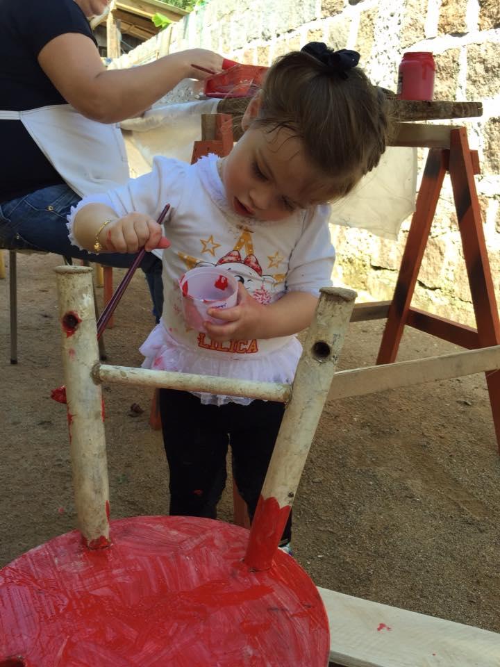 Julia, 2 anos, filha de Andresa e Paulo