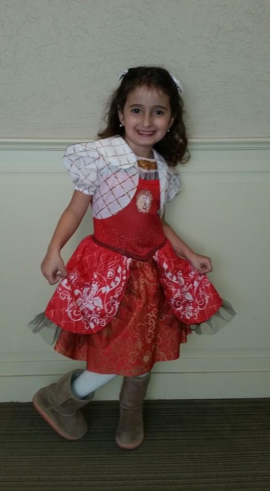 Julia, 5 anos, filha de Márcia e Rubem