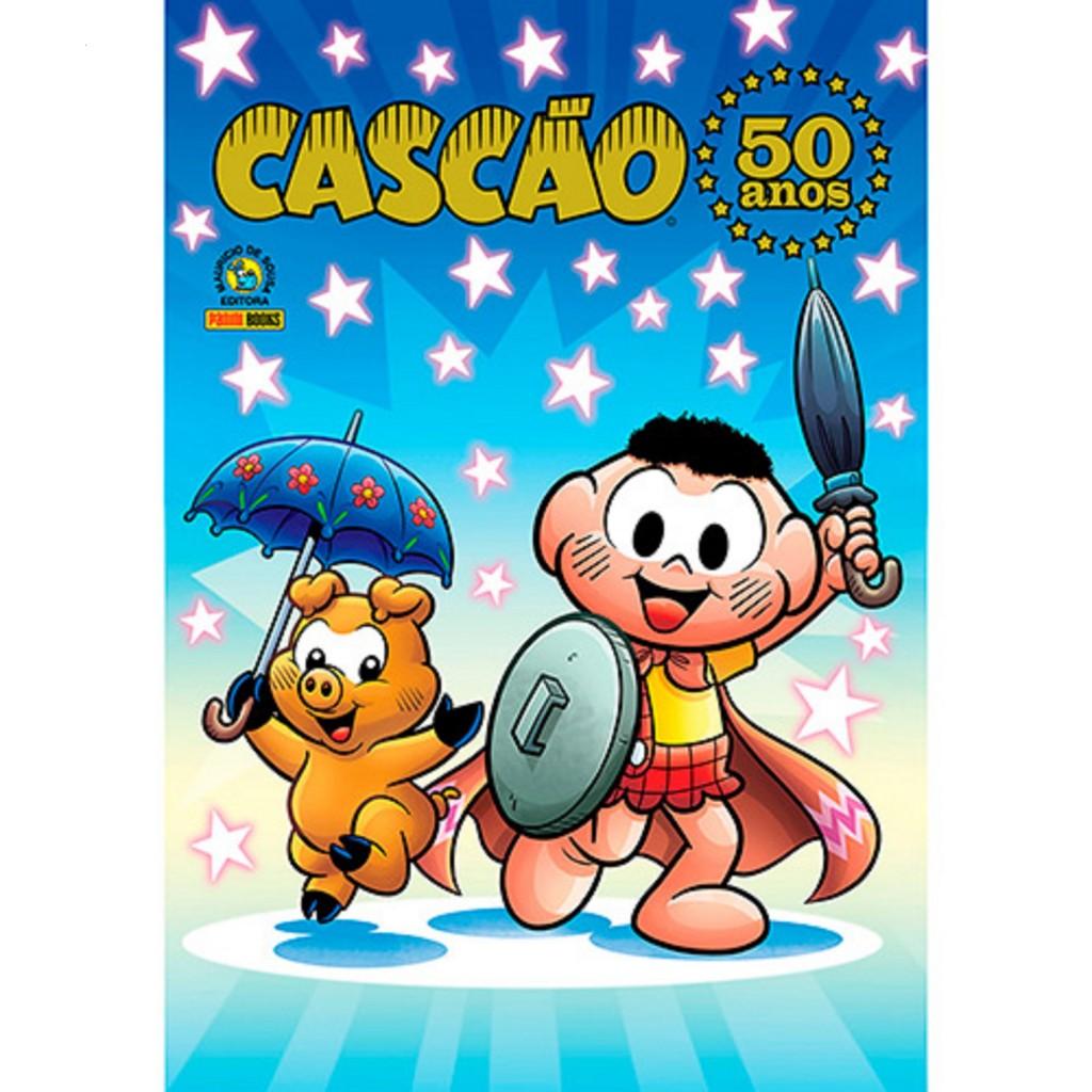 Livro - Cascão - 50 Anos  - R$ 57,90
