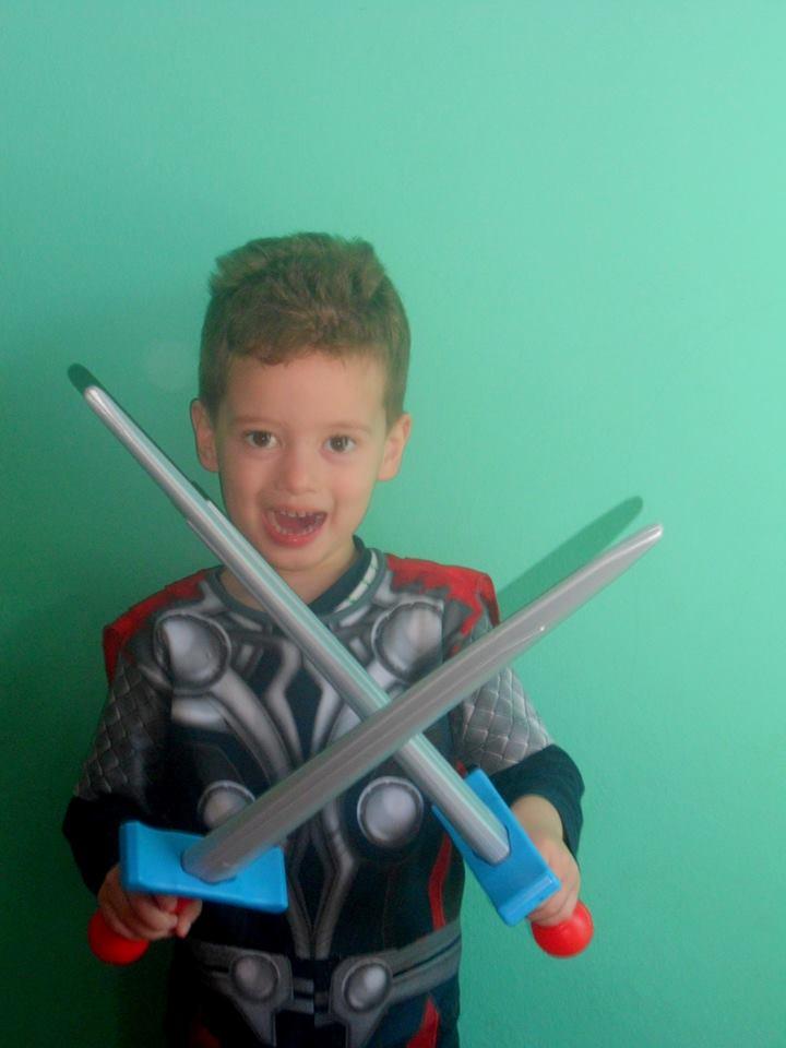 Luiz, 3 anos, filho de Adriele e Tiago