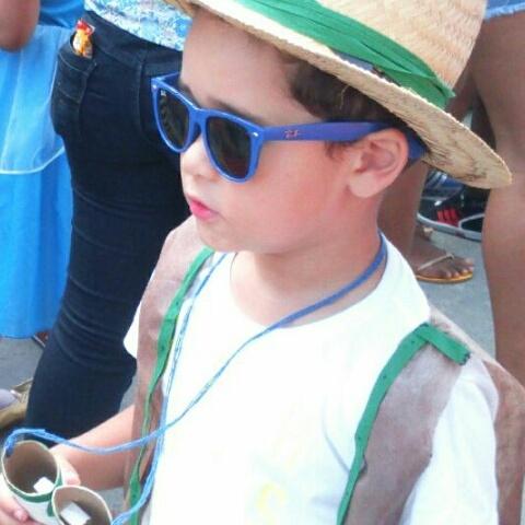 Manoel, 4 anos, filho de Manoella e Murilo