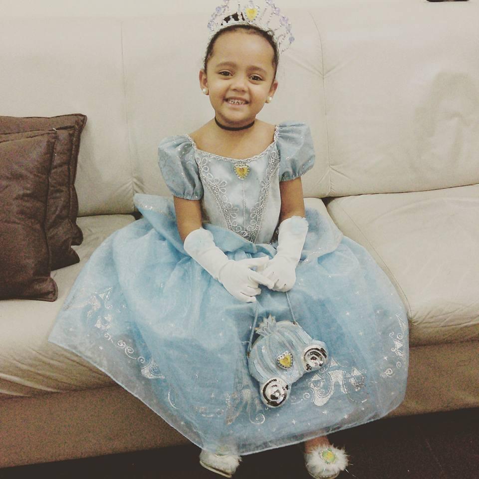 Mariana, 4 anos, filha de Rafaela e Marcos