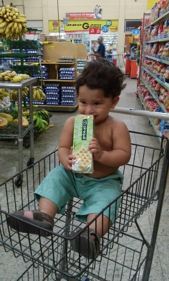 Marley Jacob, 1 ano, filho de Paulo e Lorena