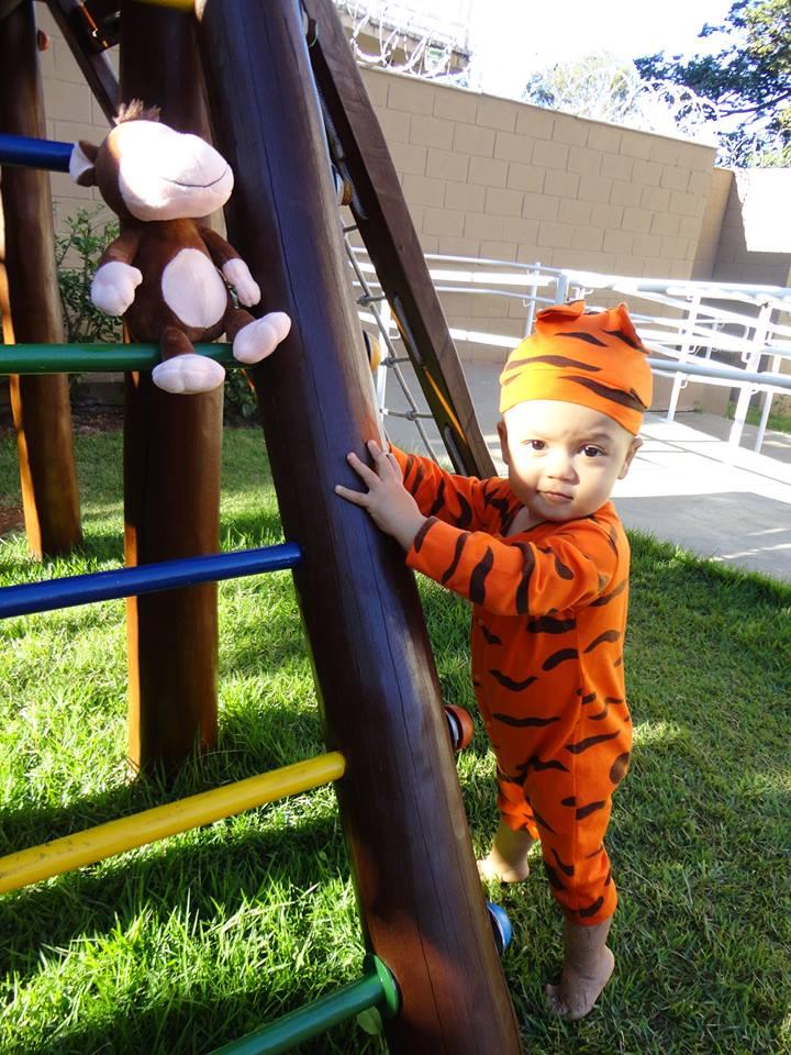 Murilo, 1 anos, filho de Josué e Jacqueline