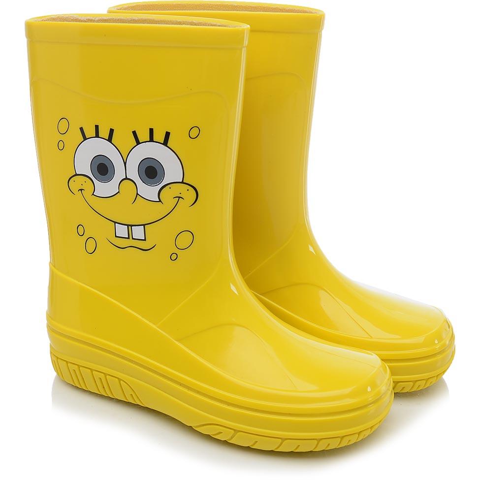 Nickelodeon-Galocha-Infantil-Nickelodeon-Fun-Amarela-Lisa-Bob-Esponja-0473-061841-1