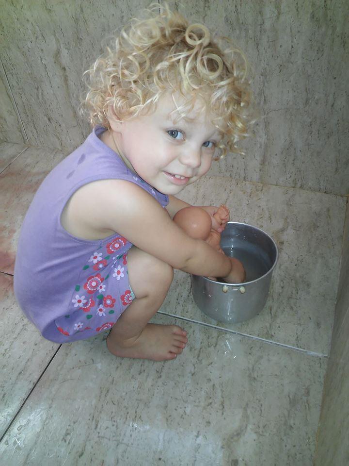 Samantha, 1ano, filha de Marcelo e Suhênia