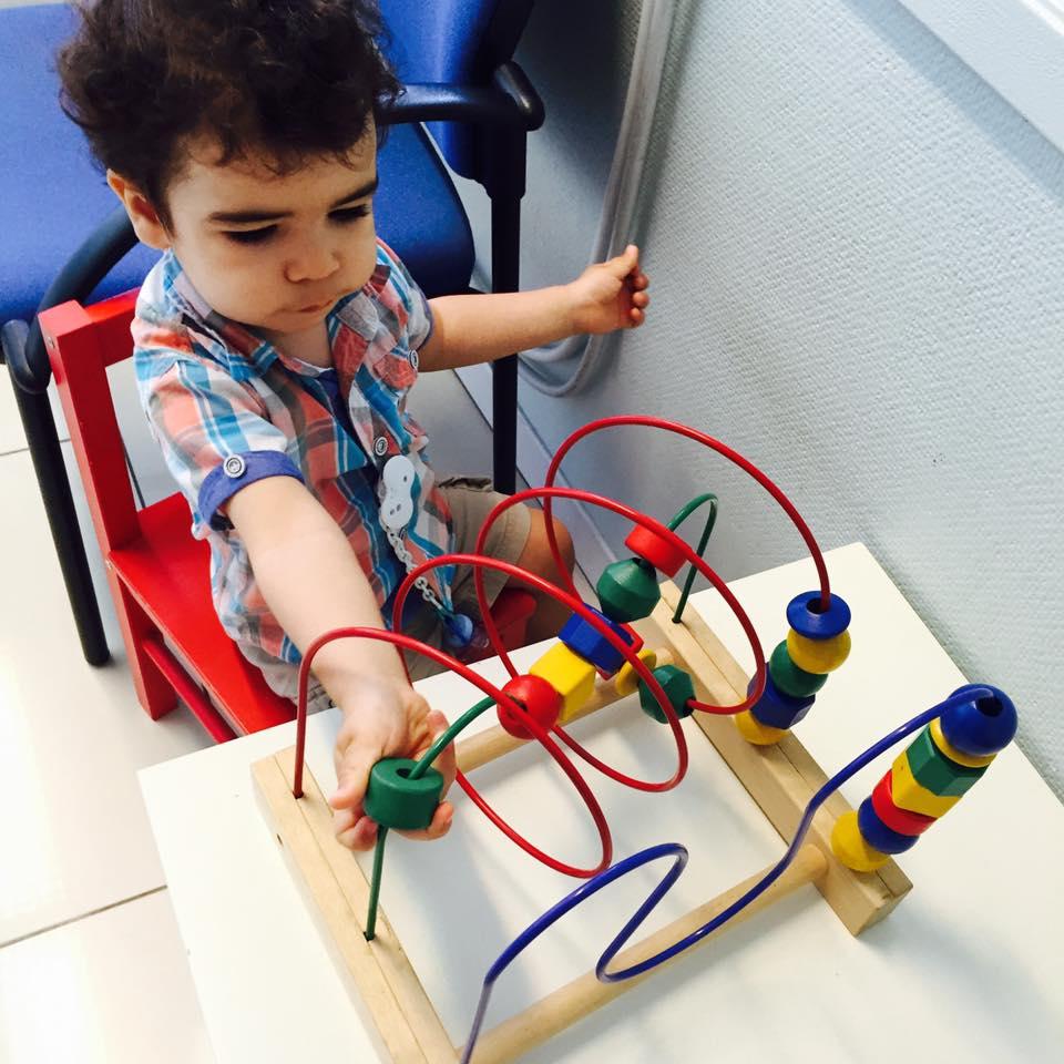 Samuel, 1 ano, filho de Eliana e Ivo