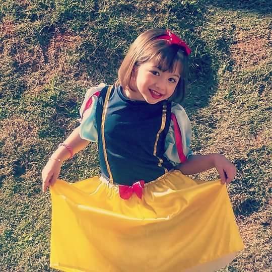 Sofia, 5 anos, filha de Ana Paula e Rafael