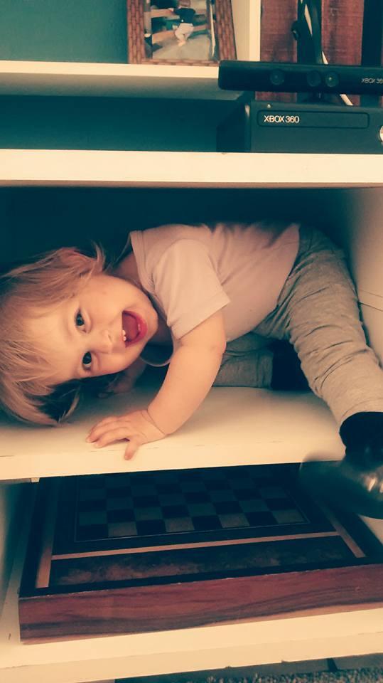 Valentina, 1 ano, filha de Roberval e Priscilla