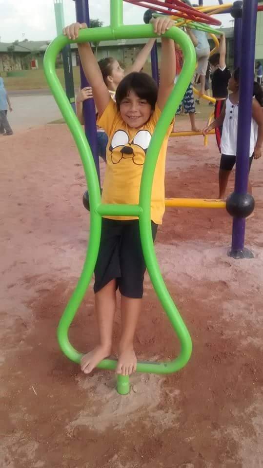 Vinicius, 8 anos, filho de Rodrigo e Daniele