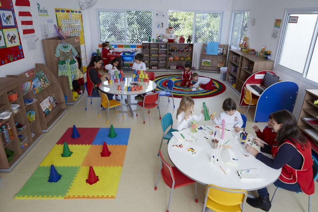 O ambiente em que as crianças vão passar o dia é fundamental para o aprendizado!