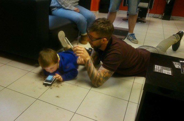 Barbeiro e menino autista 2
