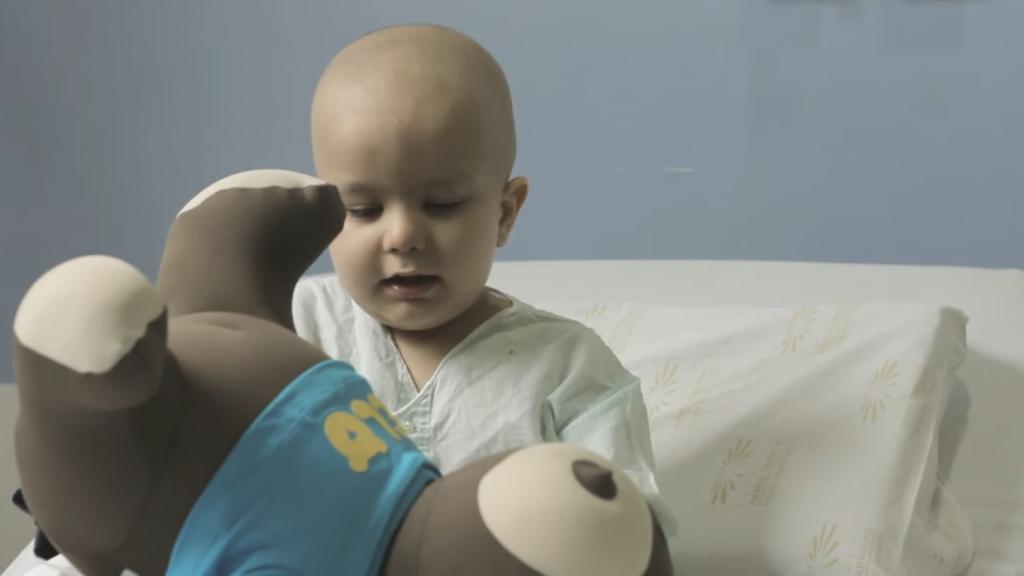 Brinquedo hospital oncológico