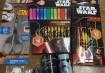 08/12: Ganhamos um kit completo da TRIS todo inspirado no novo filme da franquia Star Wars - O Despertar da Força. Tem lápis de escrever, lápis de cor, canetinhas, apontador, borracha, régua, tesoura... Todo mundo adorou e vai fazer sucesso nessa volta às aulas!