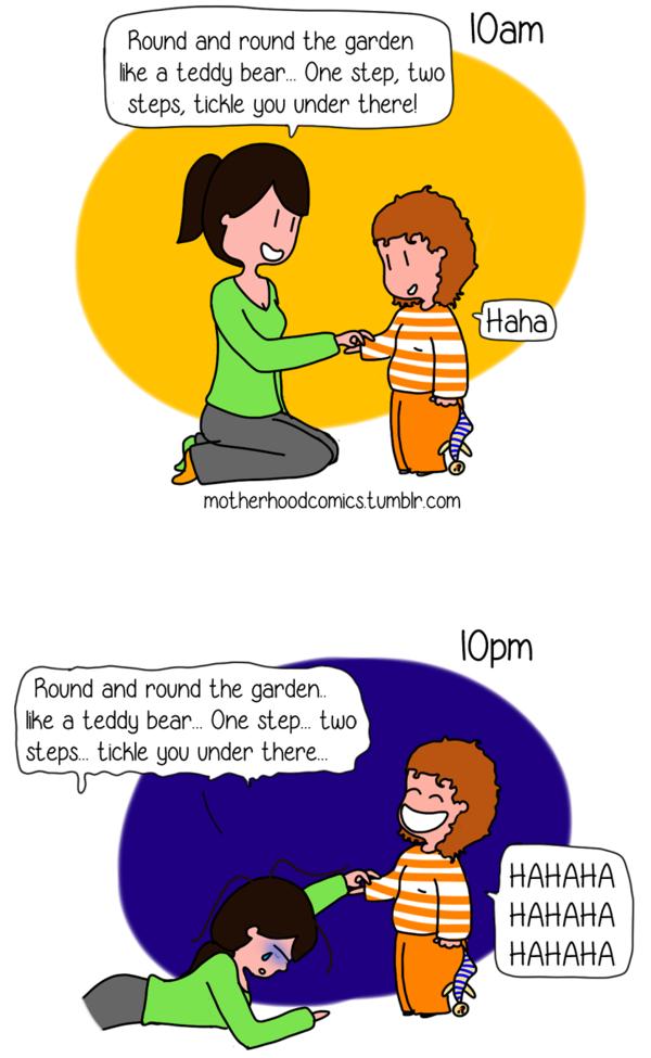 Ilustrações mães inglês 9
