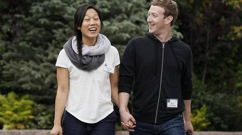 Mark Zuckerberg e Priscilla Chang 3