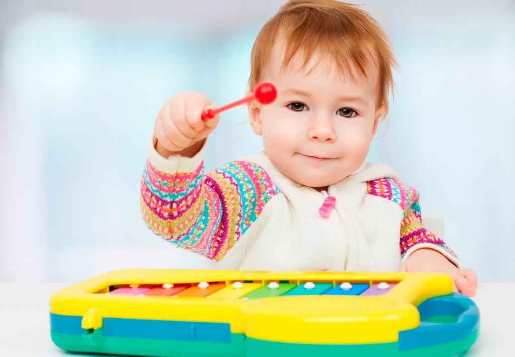 instrumentos musicais para crianças