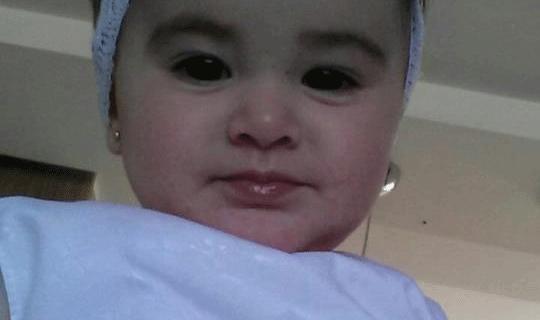 Ana-Cecília,-7-meses,-filha-de-Andréa-e-Marlon