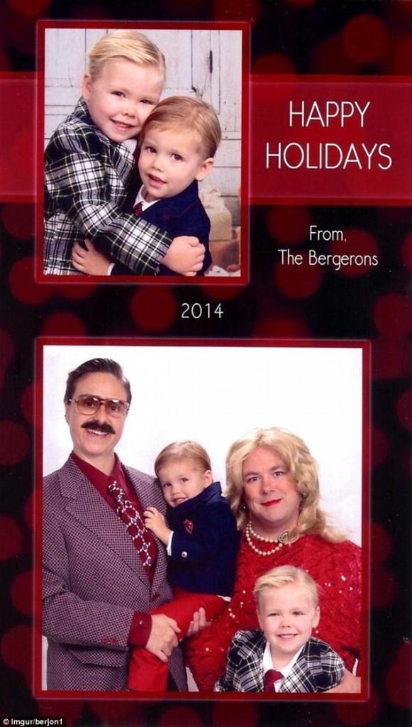 Cartões Mike e Laura Bergeron 4