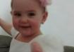 Helena, 1 ano, filha de Paulo e Jennifer